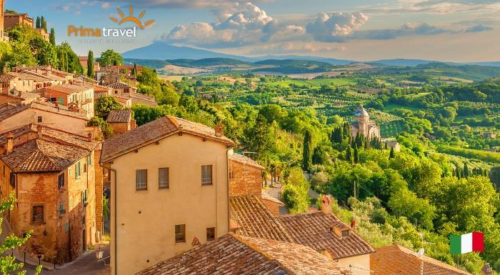 Fotka zľavy: Zažite romantické Toskánsko, jednu z najkrajších častí Talianska, počas 5-dňového zájazdu s CK Prima Travel len za 169 €. Čaká na vás krásna architektúra a jedinečná historická atmosféra!