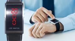 Zľava 77%: Vždy načas a štýlovo s pánskymi digitálnymi LED hodinkami len za 4,99 €. Originálny a praktický doplnok pre každého muža!