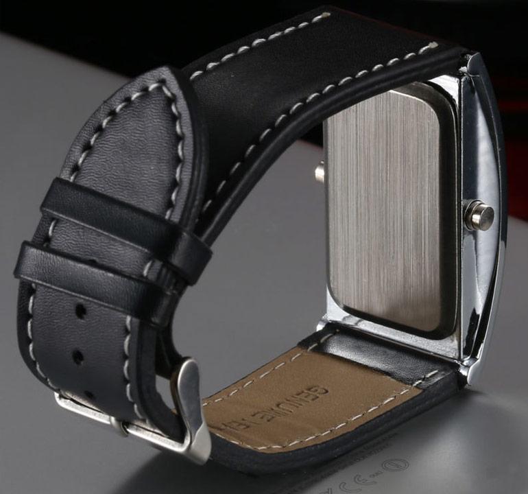 Digitálne LED hodinky pre pánov  93750f88e99