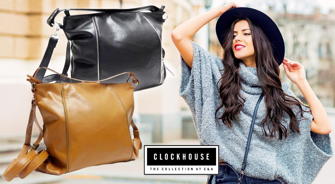 Značkové dámske kabelky ACCESSORIES CLOCKHOUSE v dvoch farbách