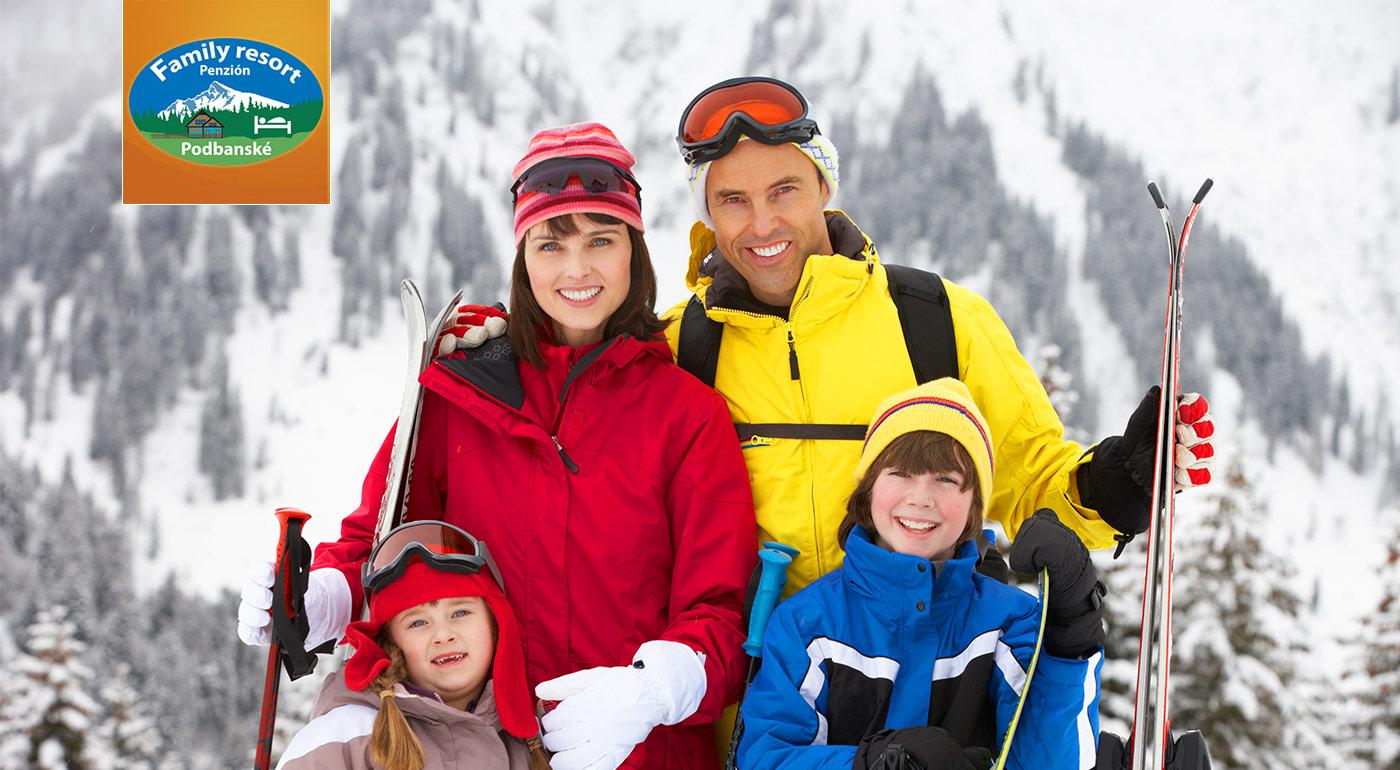 Penzión Family Resort v Podbanskom - oddýchnite si na okraji Západných a Vysokých Tatier. Dieťa do 4 rokov zadarmo!