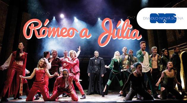 Rómeo a Júlia - dve vstupenky pre všetky zaľúbené páriky na úspešné predstavenie Divadla Nová scéna