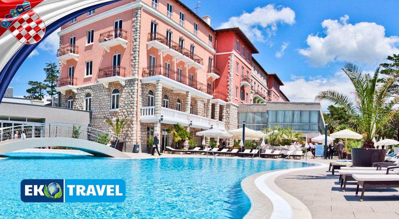 Veľká noc v Chorvátsku v objatí luxusu Hotela Grand Imperial**** na ostrove Rab
