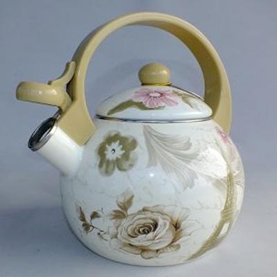 Smaltovaný čajník EDENBERG - Paris