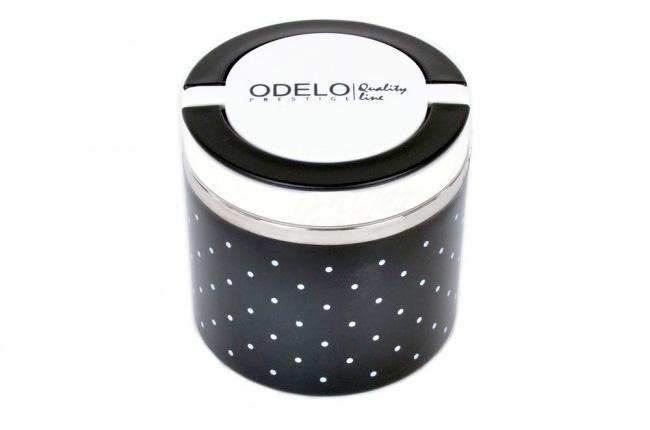 A1. Termoobedár nerezový 1-dielny ODELO model OD1281, objem: 630 ml  - čierny