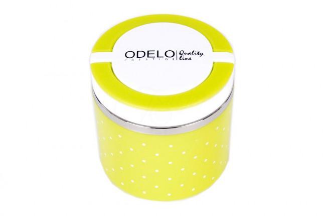 A2. Termoobedár nerezový 1-dielny ODELO model OD1282, objem: 630 ml  - zelený