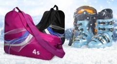 Zľava 33%: Pre bezpečné a pohodlné cestovanie vašich lyžiarok a korčúľ, im kúpte univerzálny vak len za 7,99 €. Vak je s nastaviteľným popruhom na rameno, rukoväťou a zipsom. Na výber z troch farieb.