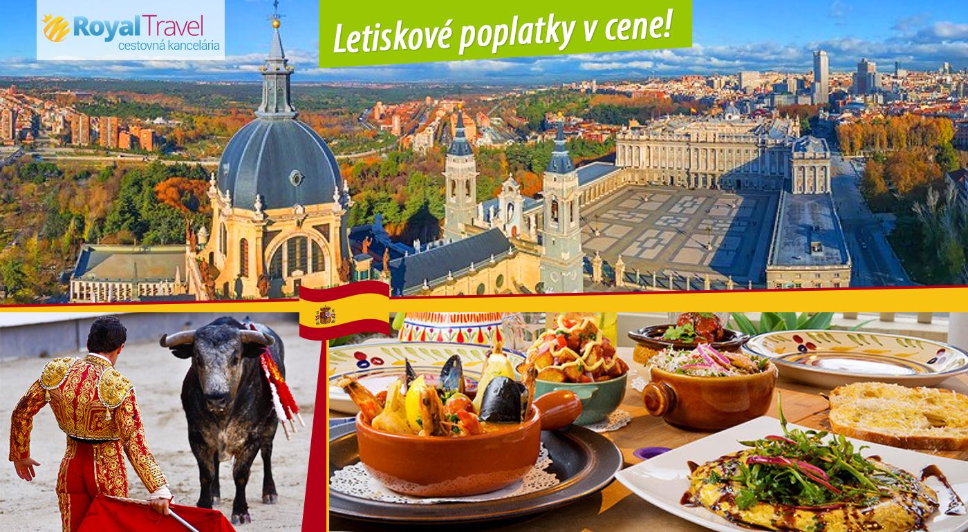 Fotka zľavy: Spoznajte hlavné mesto Španielska - čarovný Madrid len za 399 € s CK Royal Travel. Metropola umenia, flamenca a toreádorov čaká aj na vás.