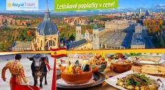 Zľava 42%: Spoznajte hlavné mesto Španielska - čarovný Madrid len za 399 € s CK Royal Travel. Metropola umenia, flamenca a toreádorov čaká aj na vás.