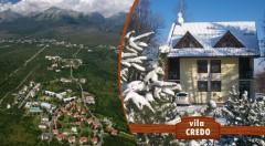 Zľava 38%: Relax uprostred Vysokých Tatier len za 42 €. Hrejivá útulnosť Vily Credo na 4 alebo 5 dní dni v Dolnom Smokovci. Užite si čarovnú zimu alebo magickú jar v lone hôr.