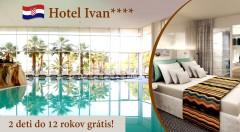 Zľava 17%: Nezabudnuteľný pobyt aj počas Valentína či Veľkej noci v luxusnom Hoteli Ivan****+ v Šibeniku už od 49 € s polpenziou a neobmedzeným vstupom do wellness! BONUS 2 deti vrátane polpenzie zadarmo!