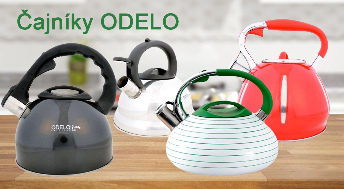 Štýlové čajníky s píšťalkou z kvalitnej nerezovej ocele - výber zo 4 trendy modelov v rôznych farbách