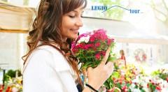 Zľava 43%: Naplánujte si jarnú sobotu s výletom na najväčšiu a najstaršiu výstavu kvetov v Čechách - FLORA Olomouc len za 19,90 €. Deň plný vôní a zážitkov aj s možnou prehliadkou Olomouca vrátane dopravy.