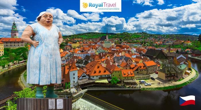 Fotka zľavy: Navštívte kultové filmové Hoštice, Český Krumlov, Karlštejn a Prahu počas dvojdňového zájazdu s CK Royal Travel len za 79 €. V cene už aj doprava, ubytovanie s raňajkami a prehliadky so sprievodcom.