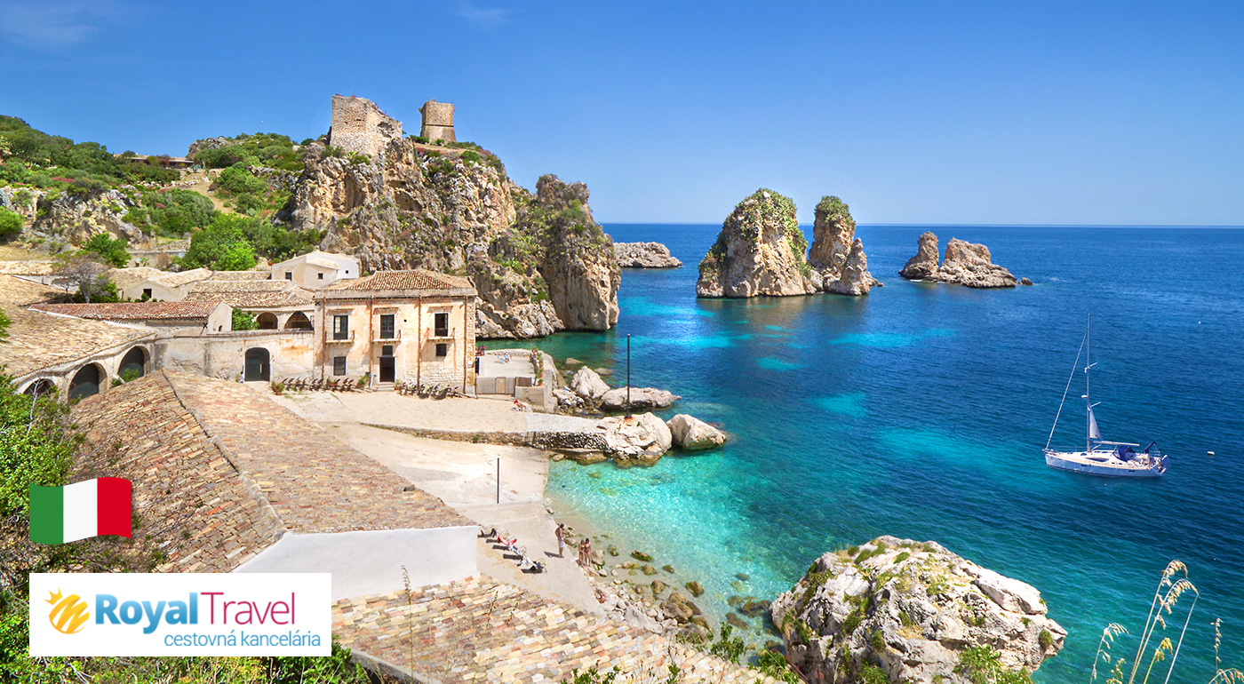 Fotka zľavy: Sicília - len za 399 € vrátane letenky a všetkých letiskových poplatkov s CK Royal Travel. Čaká vás starobylé Erice, metropoly Palermo a Trapani, či katedrála v Monreale.