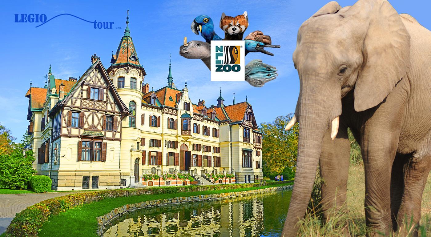 Fotka zľavy: Oslávte MDD so svojimi ratolesťami perfektným výletom! Návšteva ZOO Zlín a zámku Lešná len za 18,50 € s CK Legiotour. V cene doprava so sprievodcom!