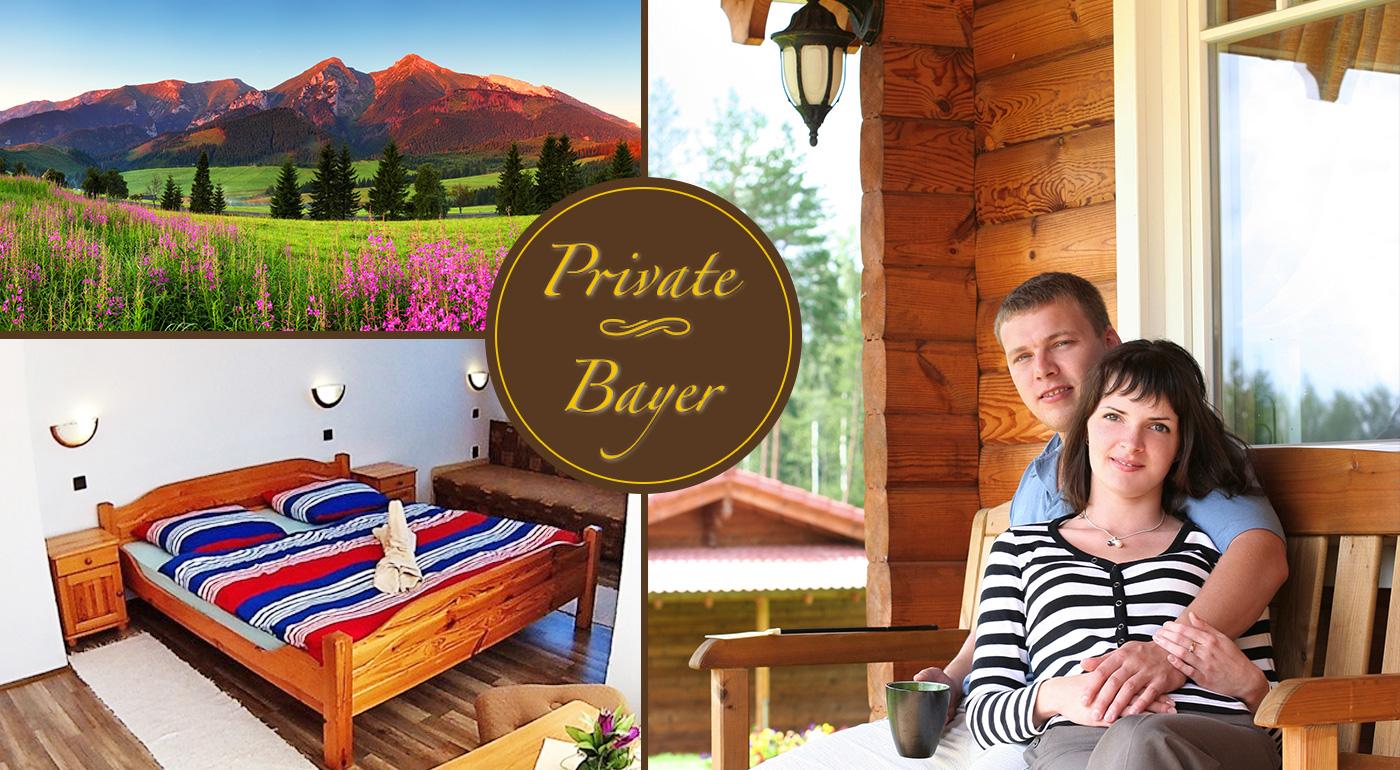 Fotka zľavy: Jarná dovolenka pod vrcholmi Belianskych Tatier v malebnej obci Ždiar - privíta vás rodinný Penzión Bayer už od 35 € s raňajkami a balíčkom skvelých zliav!