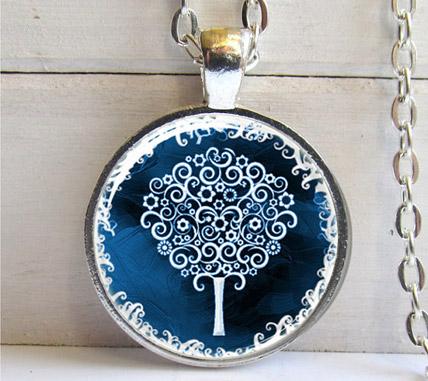 Retiazka s príveskom Strom života - varianta 2