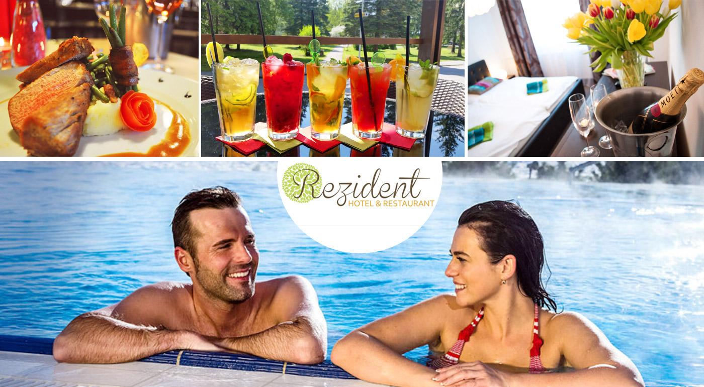 Rozprávkový relax v kúpeľných Turčianskych Tepliciach v Hoteli Rezident*** so vstupom do aquaparku