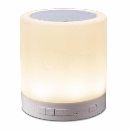 LED Bluetooth reproduktor s dotykovou lampou