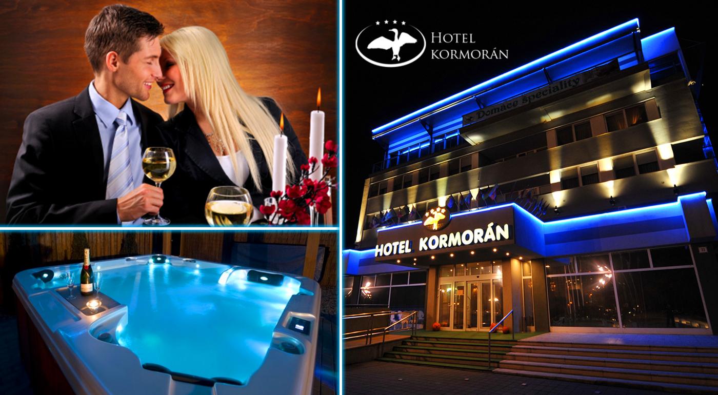 Pobyt plný zaslúženého relaxu s wellness v Hoteli Kormorán**** neďaleko Bratislavy