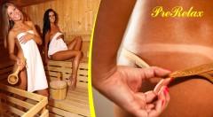 Relax v PreRelaxe - solárium, sauny, vírivky, oxygenotarapia... a All Inclusive občerstvenie