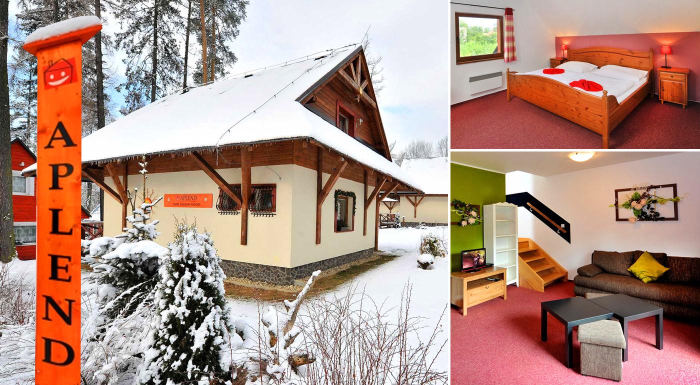 Zimný relax a lyžovačka pod vrcholmi Vysokých Tatier v Tatry Holiday