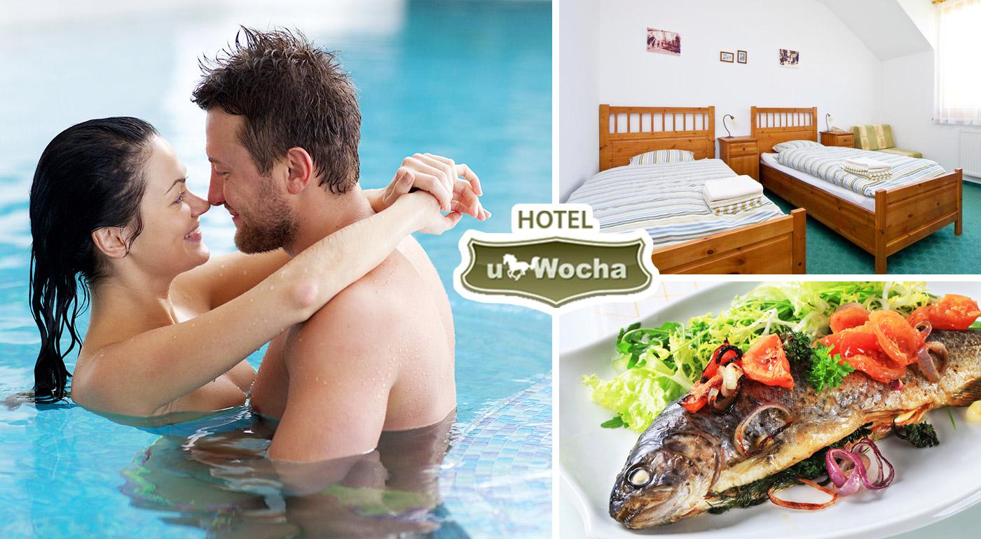 Fotka zľavy: Zažite víkend s celou rodinou plný oddychu v Hoteli u Wocha*** v Blatnom už od 99 € s polpenziou a vstupom do wellness alebo aquaparku Senec. V ponuke aj varianta s relaxom v saune!