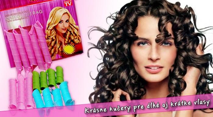 Magické nátačky pre krásne kučeravé vlasy.