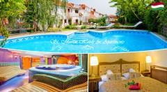 Zľava 31%: Zažite orient v blízkom Maďarsku - jedinečný relax v luxusnom St. Martin Hotels Apartments**** pri termálnom jazere Hévíz len za 129 € pre dvoch na 3 dni s polpenziou a vstupom do exotického wellness!