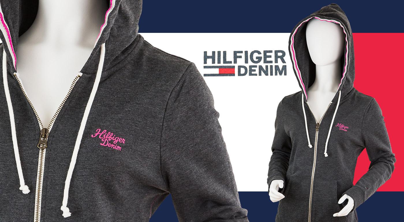 Kvalitná dámska mikina značky Hilfiger Denim za skvelú cenu!