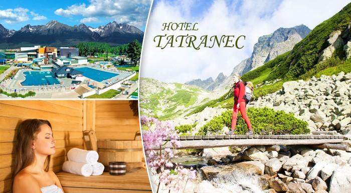 Fotka zľavy: Čerstvý vzduch čaká na vás pod štítmi Vysokých Tatier v Hoteli Tatranec. Prežite 3 alebo 6 dní v Tatranskej Lomnici už od 44 € s polpenziou, vstupom do fitness a bohatým balíčkom zliav!