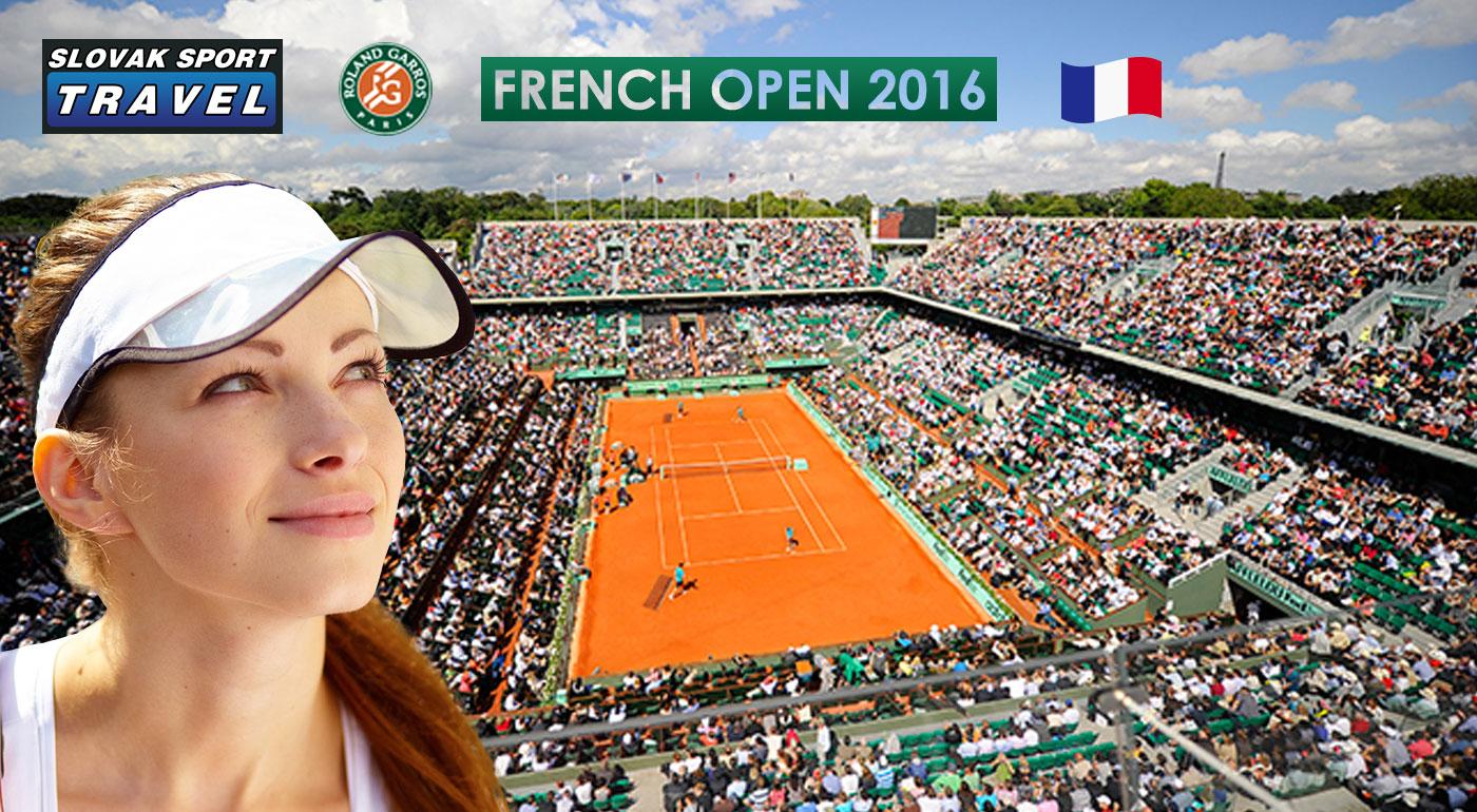 Fotka zľavy: Tenisová udalosť roka - FRENCH OPEN 2016 na vlastné oči a na vlastnej koži len za 159 € s ubytovaním, dopravou, celodennou vstupenkou a s prehliadkou centra Paríža a službami sprievodcu!