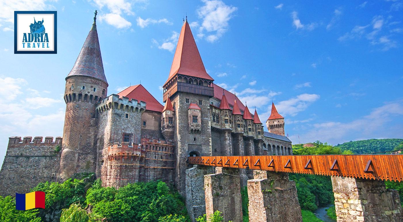 Fotka zľavy: Odhaľte tajomný a neprebádaný historický odkaz Transylvánie v rámci 5-dňového zájazdu s CK Adria Travel len za 159 € vrátane dopravy i ubytovania. Príďte na koreň hrôzu naháňajúcim legendám!