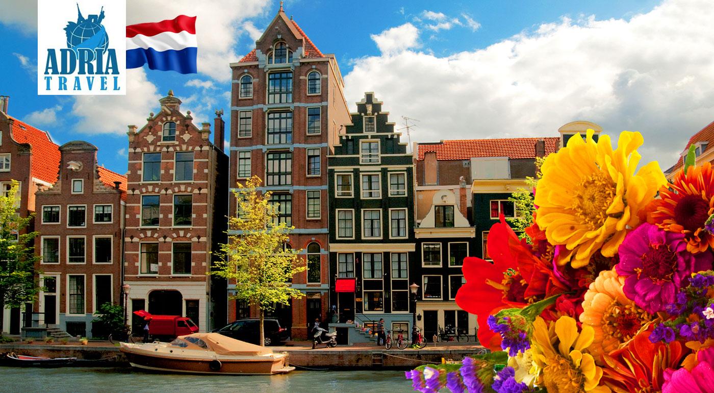 5-dňový poznávací zájazd do Holandska - Amsterdam, Bruggy, živý skanzen Zaanse Schans a svetoznáma výstava kvetov