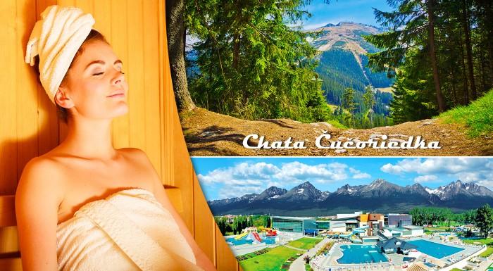 Fotka zľavy: Úžasný 3- alebo 4-dňový oddych v lone nádhernej prírody pod Kráľovou hoľou v chate Čučoriedka už od 145 € pre 10 osôb. V cene je i neobmedzená sauna, hydromasážna vaňa či zľava do Aquacity Poprad!