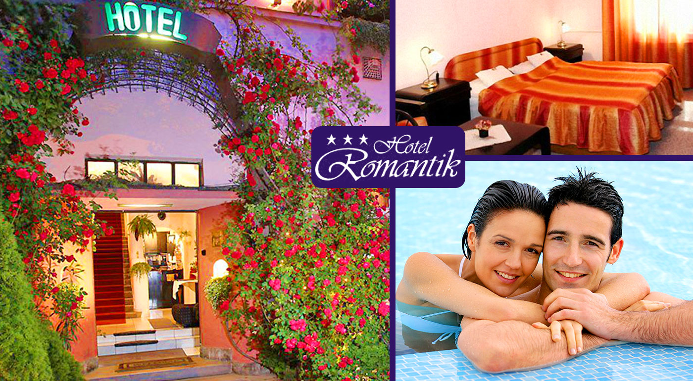 Tri alebo štyri dni vo dvojici v maďarskom kúpeľnom meste Eger v Hoteli Romantik*** s wellness v zážitkových kúpeľoch