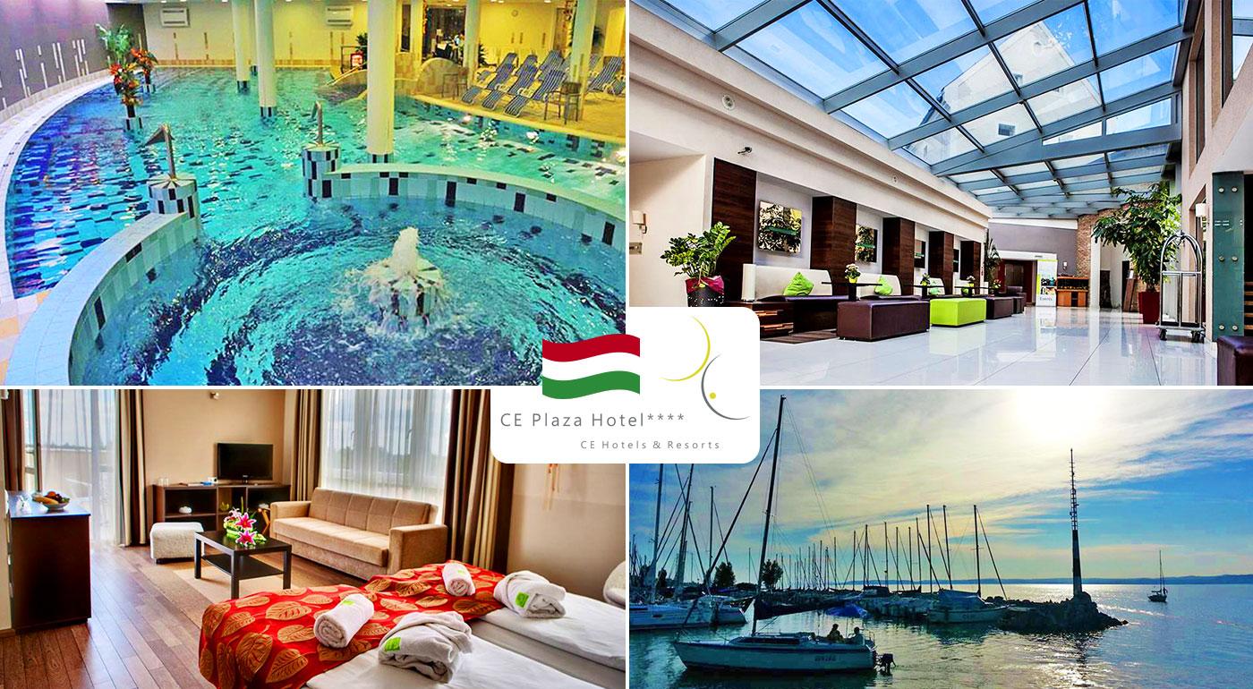 Relaxačný pobyt pre 2 osoby pri jazere Balaton v Maďarsku v CE Plaza Hotel****. Dieťa do 6 rokov zadarmo!