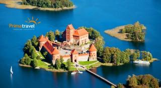 Zľava 39%: 6-dňový poznávací zájazd pobaltskými krajinami len za 239 €. V cene doprava luxusným autobusom, ubytovanie s raňajkami a prehliadka miest Vilnius, Tallinn, Šiauliai, Helsinki a Riga so sprievodcom.
