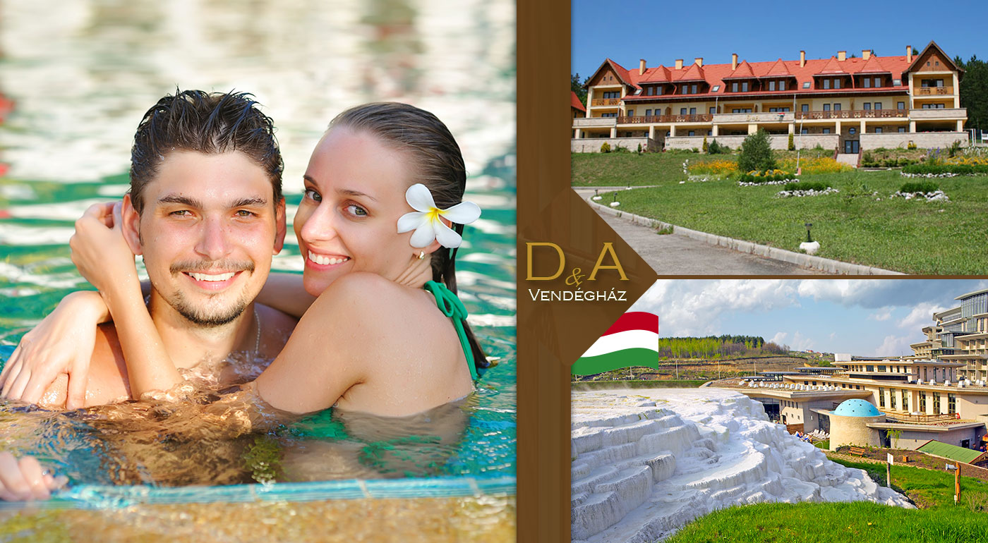 Trojdňový wellness pobyt v D & A Apartmánoch so vstupom do svetoznámych kúpeľov v maďarskom Egerszalók