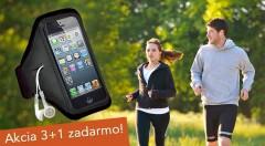 Zľava 68%: Praktická pomôcka nielen pre športovcov - štýlové puzdro na mobil či mp3 s priesvitnou fóliou pre priame ovládanie displeja. Puzdro je v čiernej farbe. Navyše akcia 3+1 zadarmo!