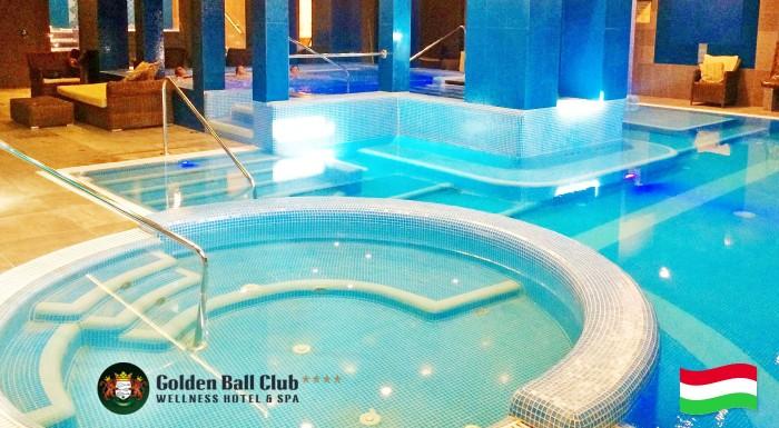 Fotka zľavy: Trojdňový oddych pre dvojicu v centre maďarského Győru v luxusnom Golden Ball Club**** Wellness & Spa Hotel len za 99 €! Raňajky, wellness, sauna a fitness v cene.
