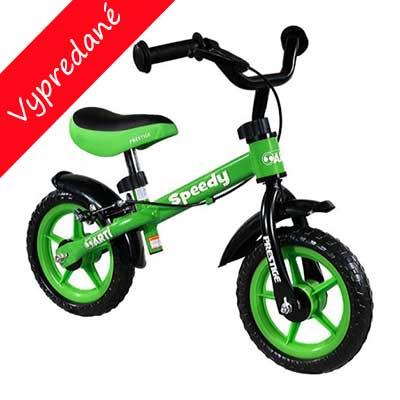Detské odrážadlo zelené: pre prvých 10 zákazníkov zvýhodnená cena!