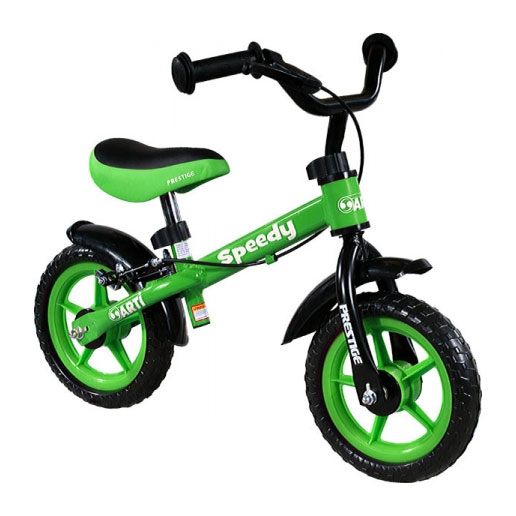 Detské odrážadlo ARTI zelené (s brzdou)