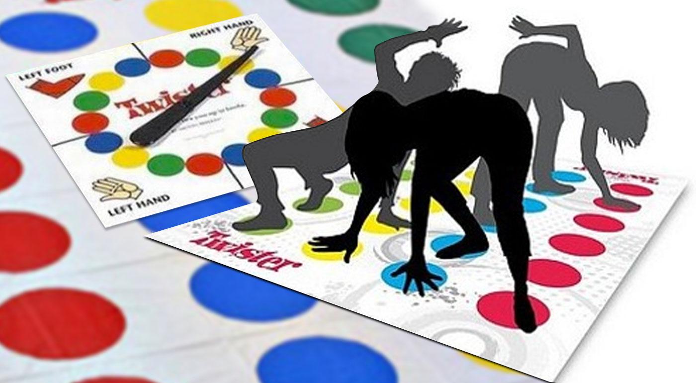 """Twister - svetoznáma spoločenská hra, ktorá vás poriadne """"zauzluje""""!"""