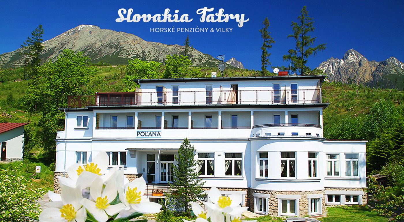 Fotka zľavy: Vychutnajte si malebné Vysoké Tatry naozaj dosýta - komfortný Penzión Poľana*** so skvelou polohou priamo na úpätí Slavkovského štítu už od 53 € na 3 alebo 4 dni s polpenziou a s ďalšími bonusmi.
