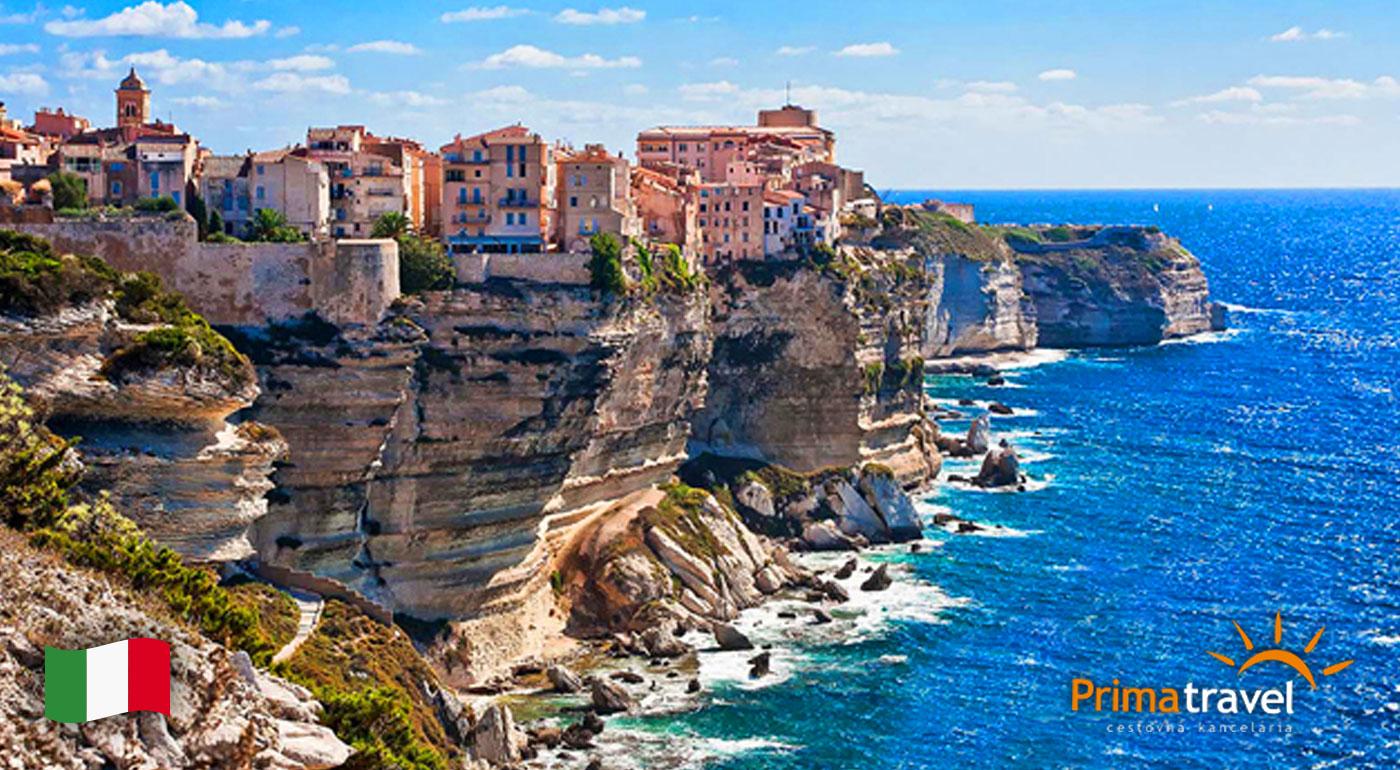 Fotka zľavy: Navštívte Karibik Stredomoria - 6-dňový zájazd na Sardíniu s výletom na francúzsku Korziku len za 269 € s CK Prima Travel. Čakajú na vás biele pláže, nedotknutá príroda, záhadné stavby a omnoho viac!