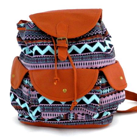 Dámsky vintage ruksak, model 8