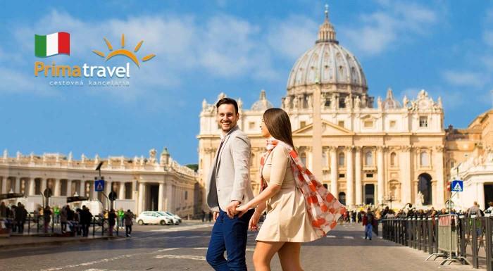 Fotka zľavy: Spoznávajte skvosty Ríma a relaxujte pri mori! 5-dňový zájazd do Talianska len za 169 € vrátane dopravy, ubytovania v hoteli s raňajkami a služieb sprievodcu.