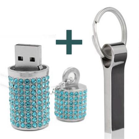 16 GB USB kľúč dámsky 1ks + pánsky 1ks